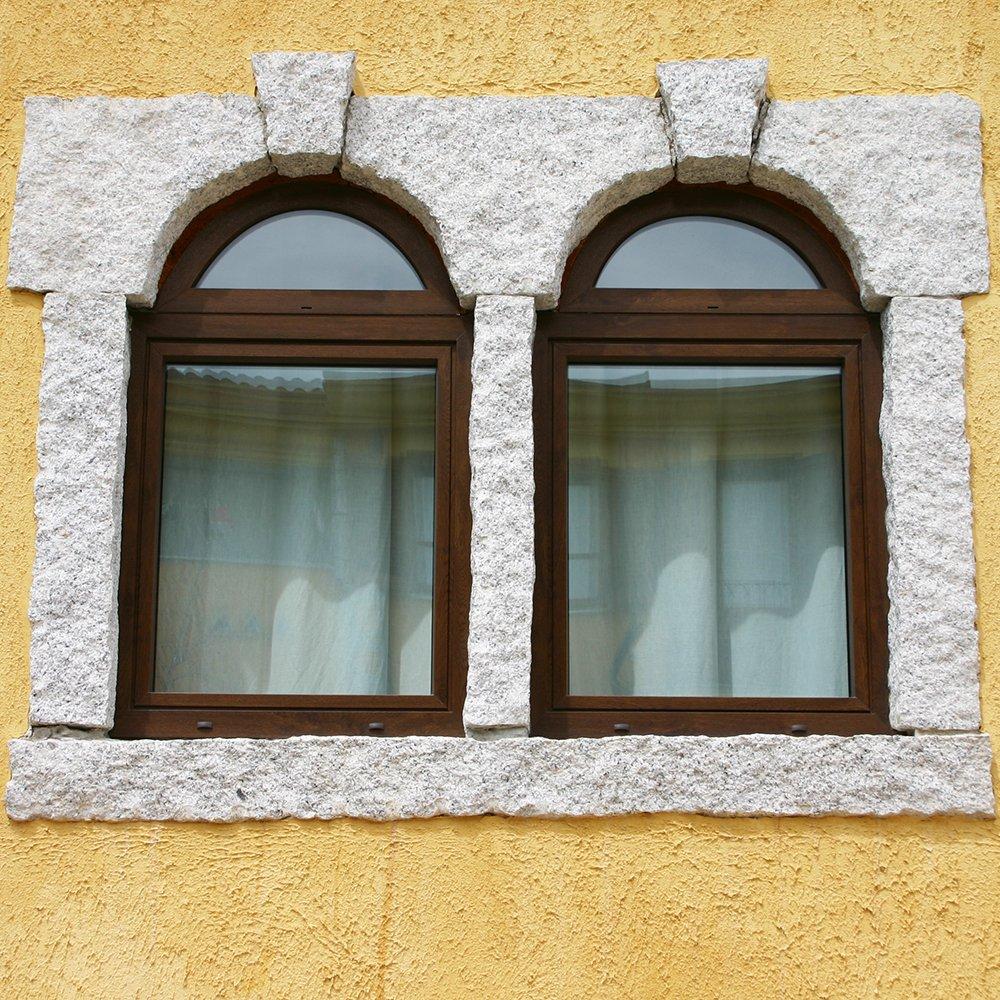 Finestre in legno PVC Teikos - Cagliari - Sardegna