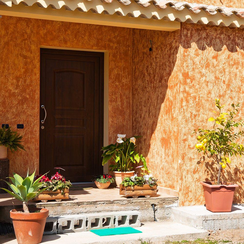 Finestre in legno PVC Teikos - Cagliari - Sardegna - fornitura infissi e serramenti per ville di lusso